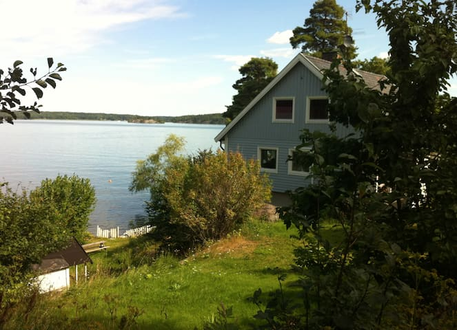 House by Lake Mälaren in Stockholm - Ekerö - Villa