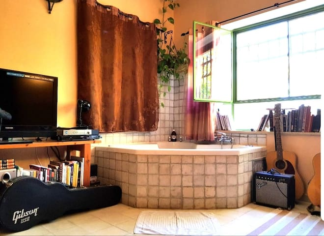 A beautiful house with hot tub in Ein Kerem