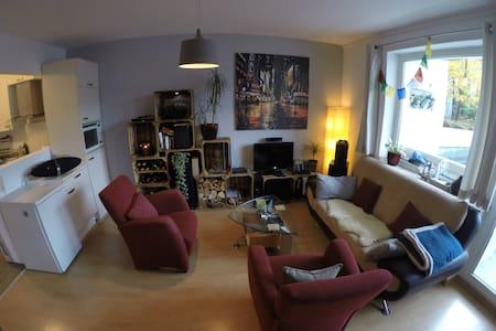 2room cozy apartment in city center 62m2 - Düsseldorf - Квартира