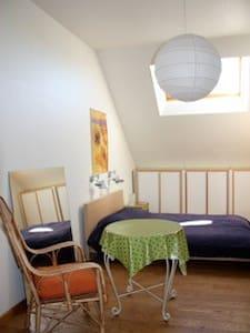 Grote zonnige kamer/studio met ontbijt. - Leuven