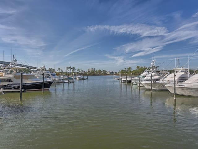 The Wharf #323 - Beautiful views and Dolphin watching from the balcony!!