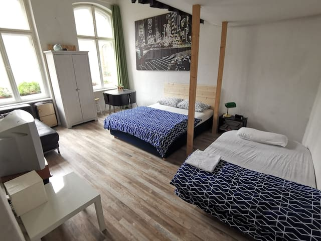 Nice big bright room in the center of Berlin