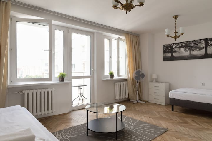 2 bedrooms Apartment in Main City Center - Warszawa - Apartment
