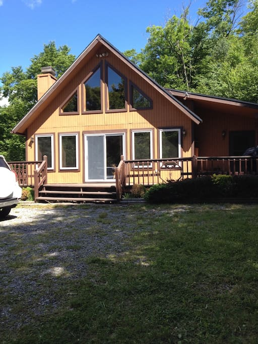 Front of Chalet
