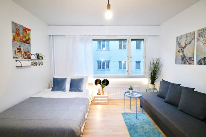 Stylish And Cosy Studio - Design District Helsinki
