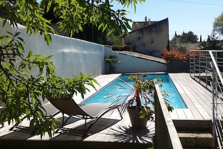 Beau studio proche Uzès - Saint-Bonnet-du-Gard - 独立屋