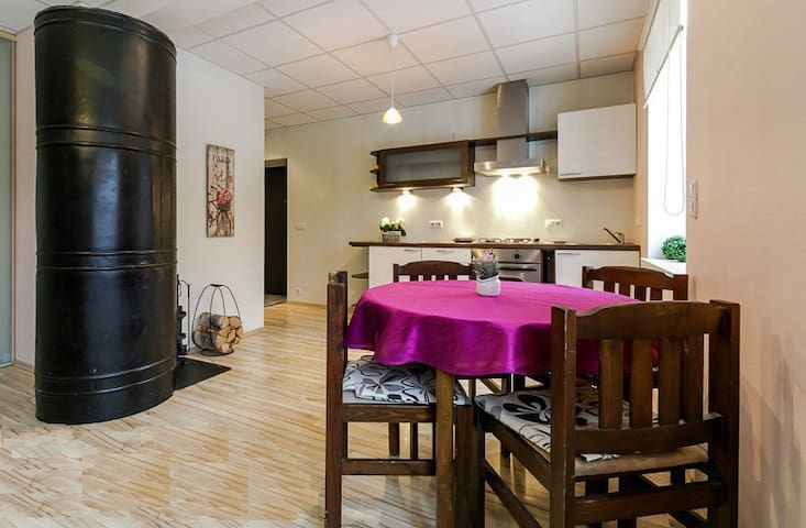Cozy studio apartment close to Telliskivi district - Tallinn - Byt