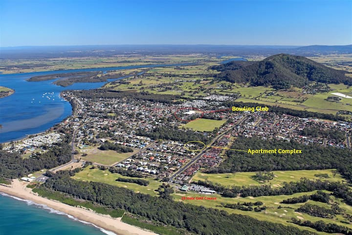 KINGSGROVE APARTMENT COMPLEX 1 OF 8 UNITS - Shoalhaven Heads - Daire