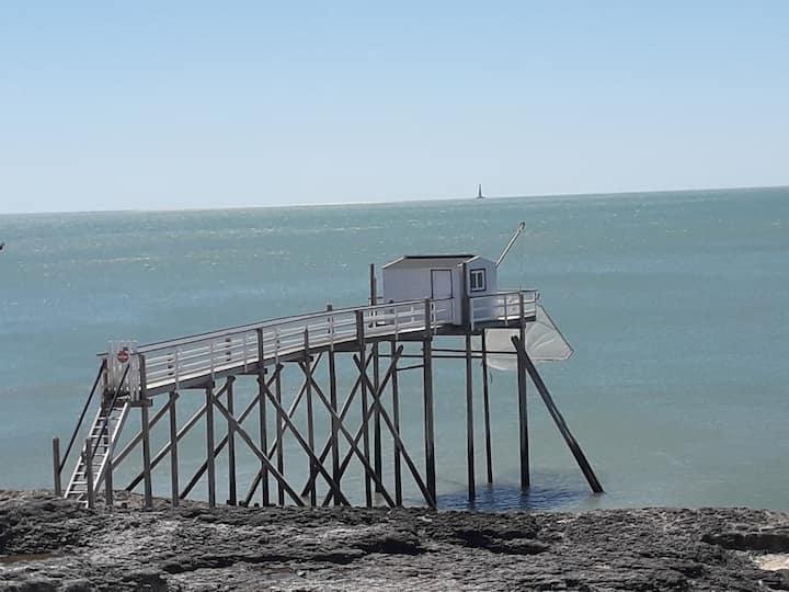 Vacances face mer et phare de Cordouan