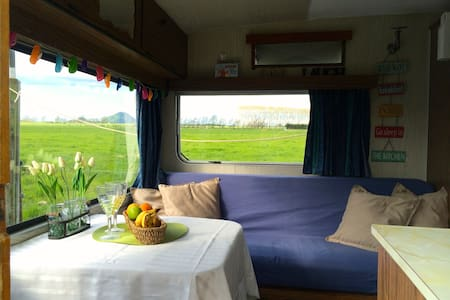 Cozy Caravan on a Dairy Farm - Thornton