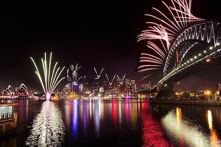 New Years Fireworks at an exclusive address - 基利比里(Kirribilli) - 公寓