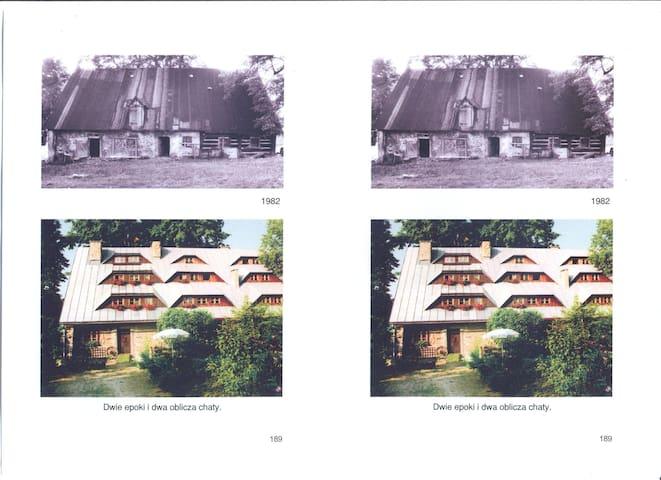 Szamanówka - najstarszy dom w Szklarskiej Porębie