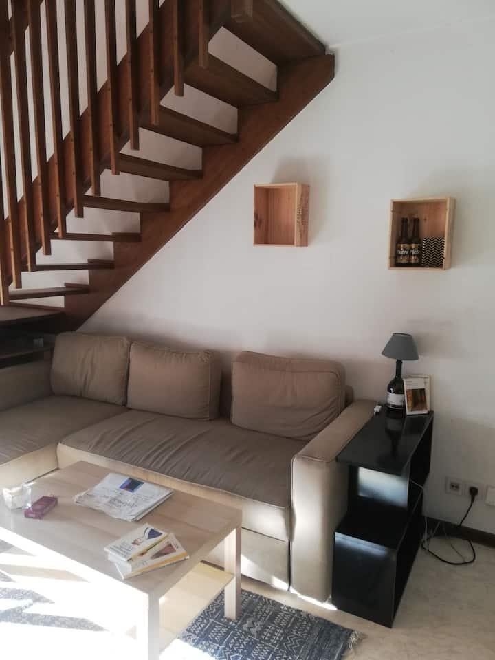 Studio avec chambre en mezzanine 45m2