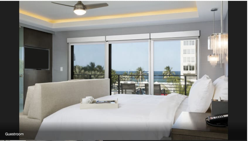 Presidential Penthouse Suite (oceanview) - Fort Lauderdale - Bed & Breakfast