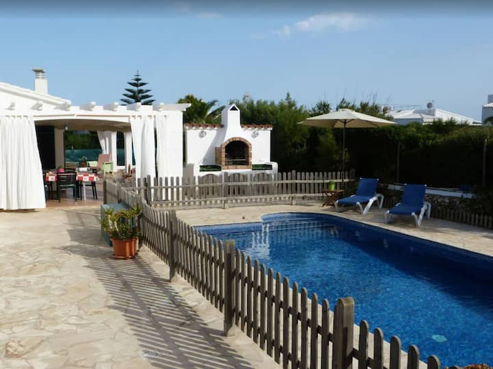 Holiday Home Racó Blau with Sea View, Pool, Wi-Fi, Garden & Air Conditioning; Parking Available