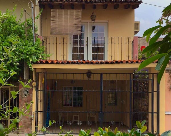 Front of house - Across the street