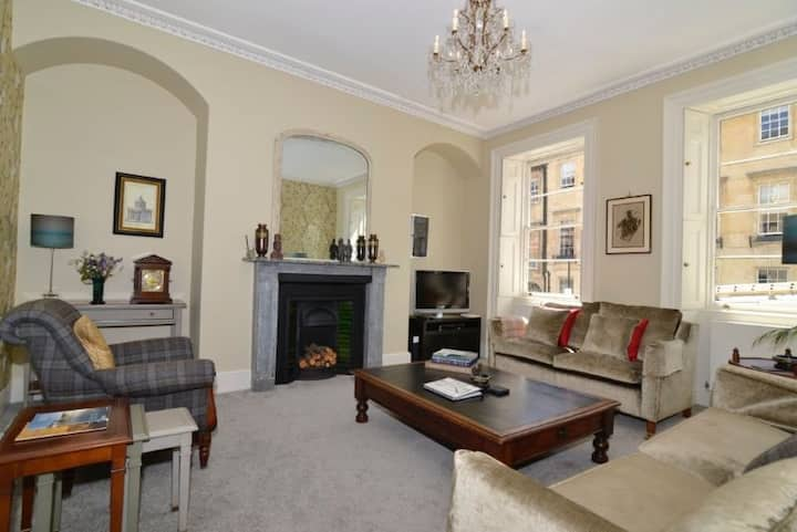 Russel Garden Apt.  5 star gold central Bath property with private courtyard garden.