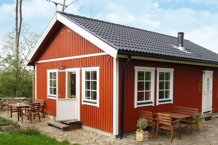 Accogliente casa vacanze a Dronningmølle con terrazza