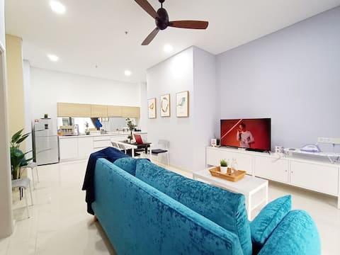 4-6pax Desa parkcity cozy suite (Eat,Play,Live)