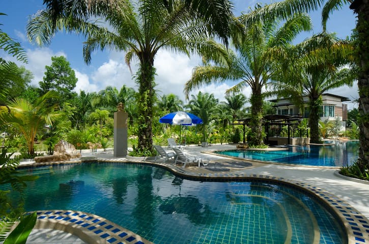 Nattha Waree Hot Springs resort and spa - Krabi - Pousada