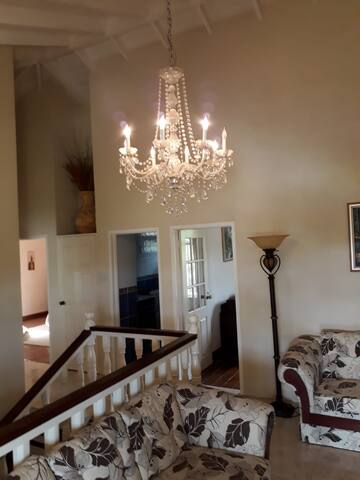 Emerald Manor, a private, lavish, residence.