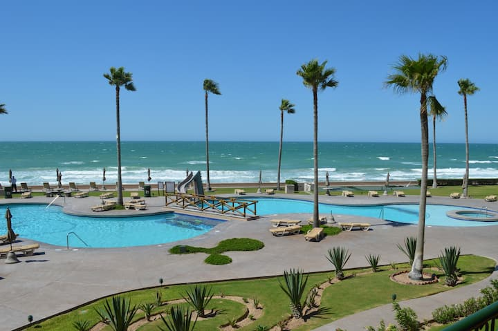 BEACHES OPEN NOW! Sonoran Spa 3 BR, 2 units avail.