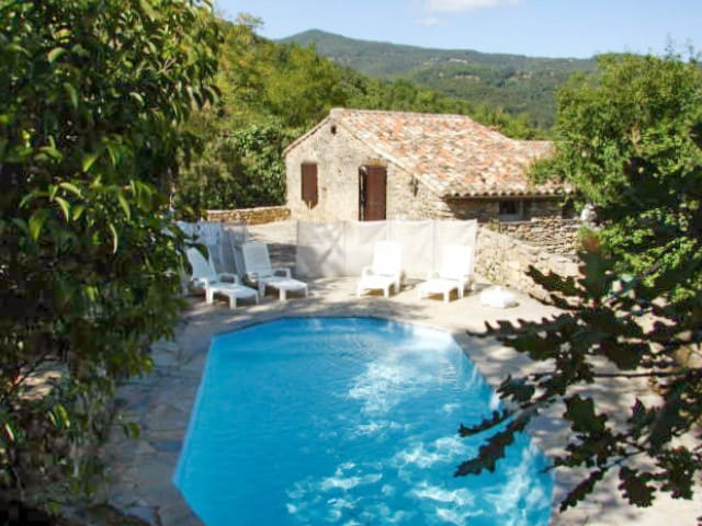 House - 42 km from the slopes - Cros - Casa