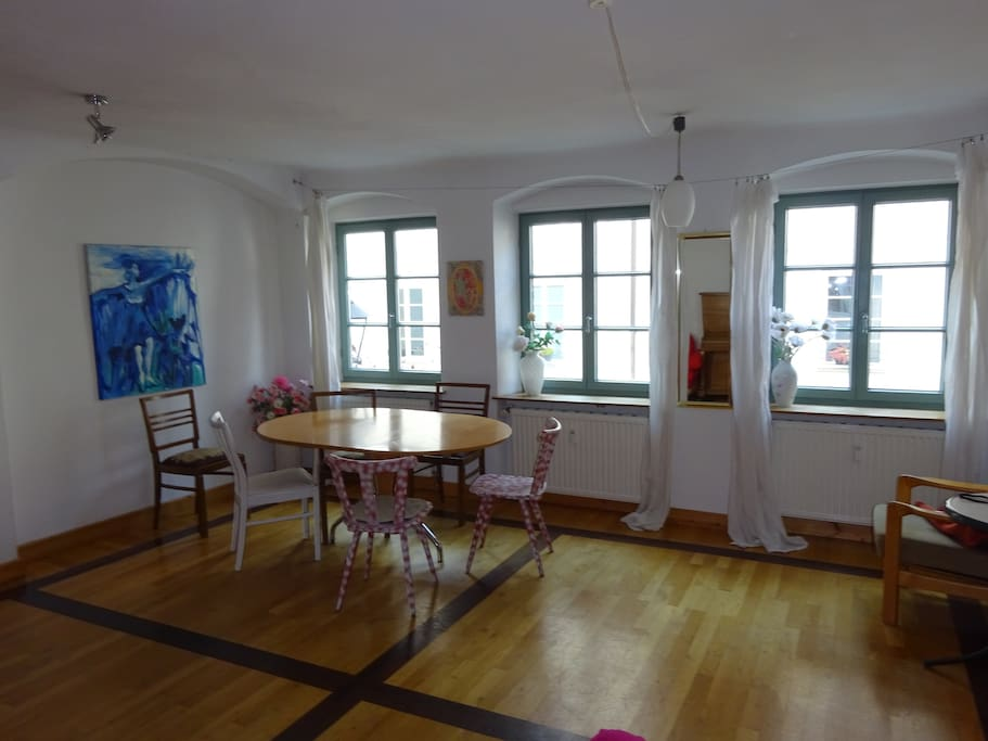 Beautiful apartement calm and absolutly central for Augsburg apartments for rent