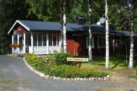 Lekvattnet - das ruhige Ferienhaus am  Rottnaberg