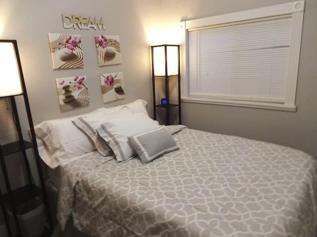 "Bedroom #3 12"" memory foam mattress"