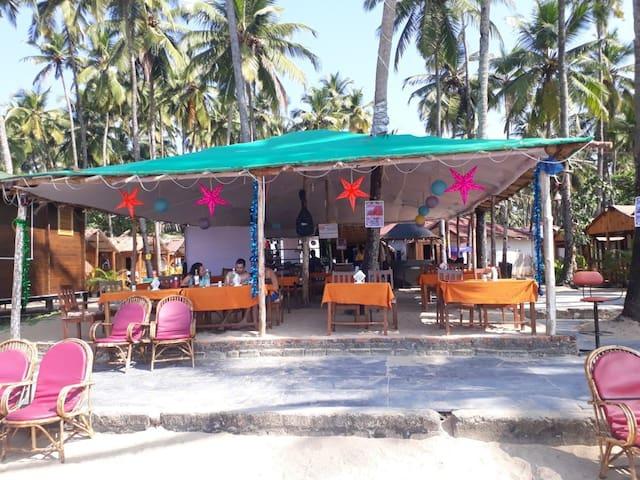 6 - Practical Rooms at Palolem Beach, Goa