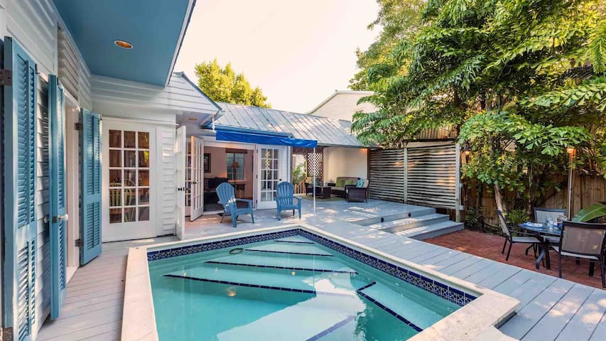 **COASTAL CABANA @ LOVE LANE** Cul-de-Sac Home & Pool + LAST KEY SERVICES...