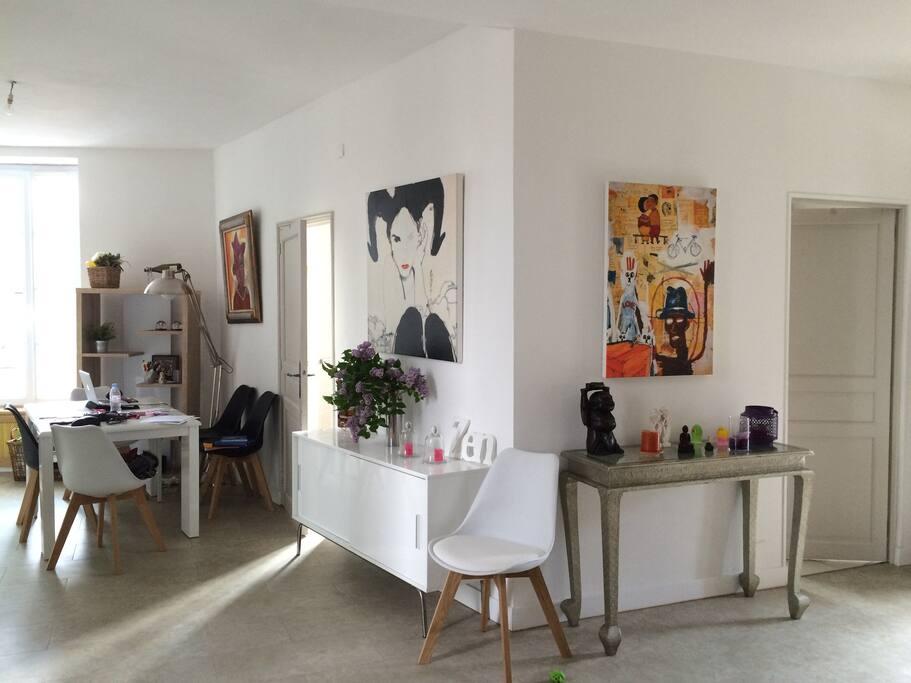 Espace a vivre de 35 m2