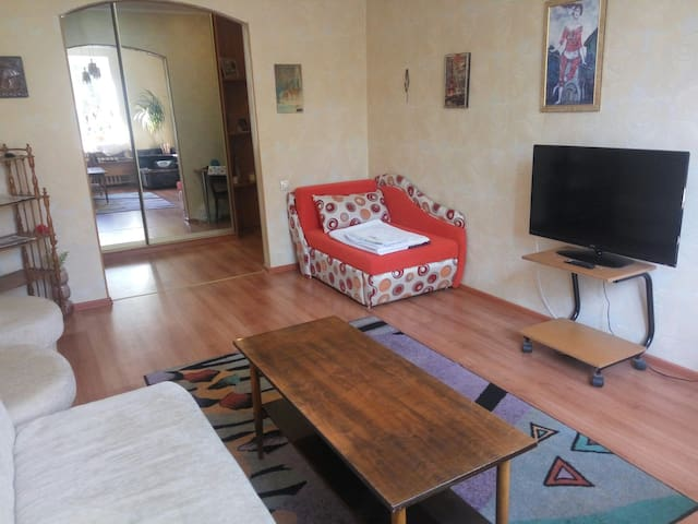 Downtown Minsk, 2 rooms apartment
