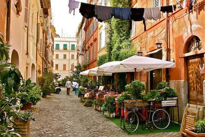 The other side - in Trastevere