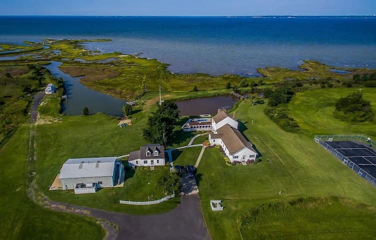Chesapeake Bay MD Waterfront Estate