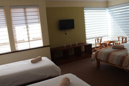 Our Comfort Family Room are spacious and have a ensuite bath and shower.