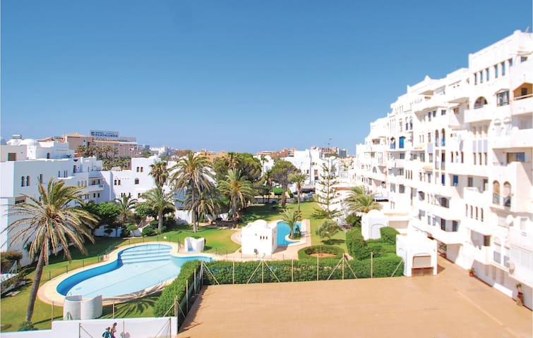 Holiday apartment with 1 bedroom on 54 m² in Roquetas de Mar