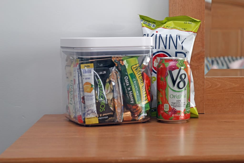 Snacks for your room