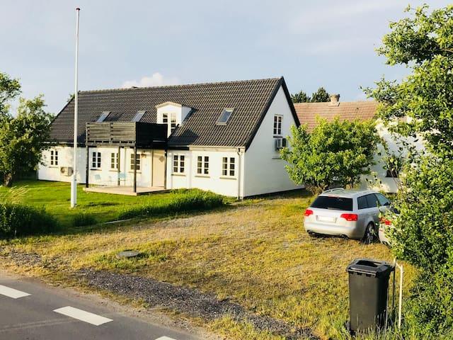 Charming large farm house refurbished - near beach