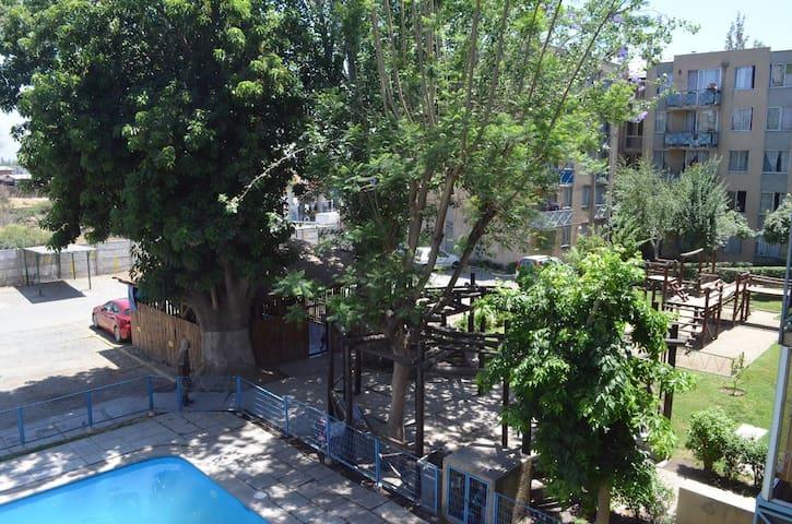 Condominio La Fuente. Lugar céntrico en Quilicura