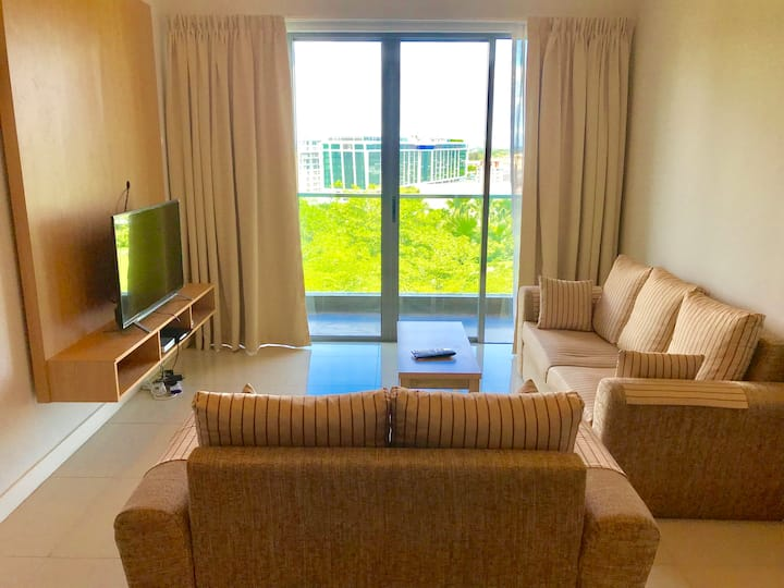 Comfy & Convenient Two Bedroom Apartment (5 pax) @ IMAGO Shopping Mall