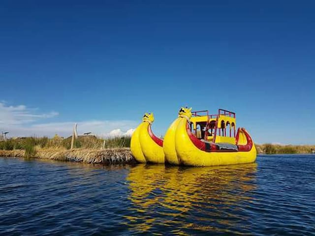 Uros titicaca floating experiences!!!