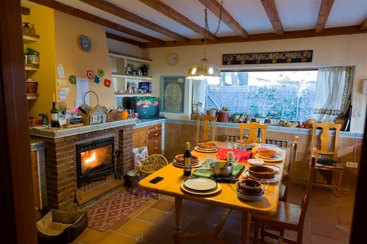Preciosa Casa  Parque Natural Sierra Guadarrama*