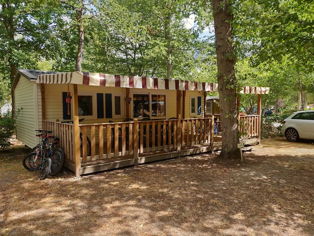 Shellie's  Mobile-home (3 bedrooms, sleeps 6)