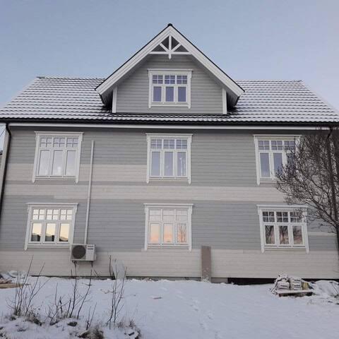 Sentralt på Stokmarknes