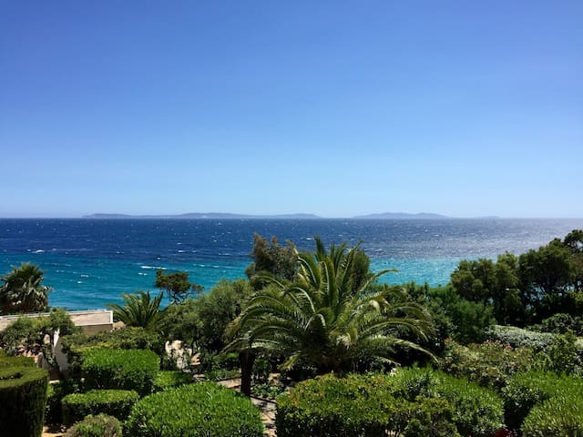 Luxueux duplex, vue sur Les Îles - Rayol-Canadel sur mer  - Appartement