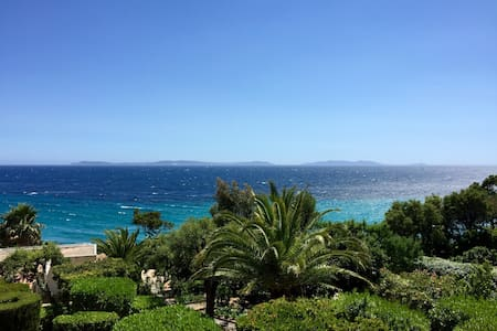 Luxueux duplex, vue sur Les Îles - Rayol-Canadel sur mer  - Apartamento