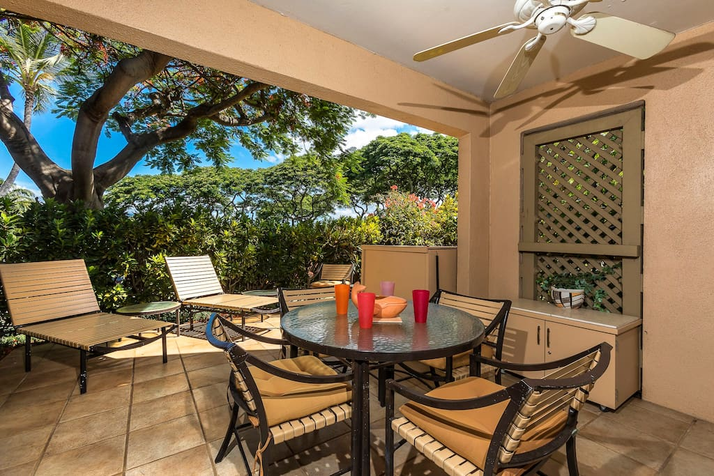 Wailea Ekahi 25B-Spacious outdoor private lanai! Enjoy the indoor, outdoor living