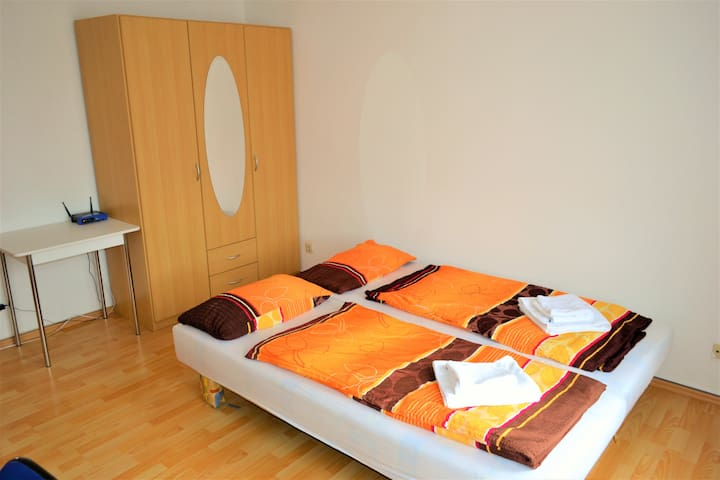 Sunny middle room close to City Center - Drážďany - Byt